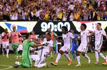 کلمبیا با شکست پرو به نیمه نهایی رسید