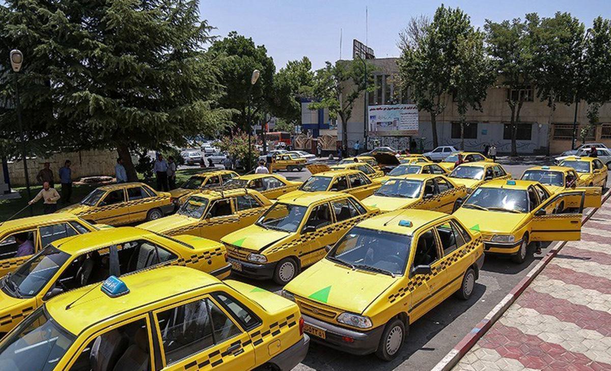 سرکشی تاکسی های اردبیل در گرانی کرونا