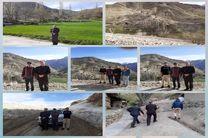 برقراری ارتباط  در 2 روستای توابع فریدون شهر