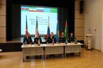 امضای تفاهم نامه همکاری نیروهای دریایی کشورهای حاشیه دریای خزر