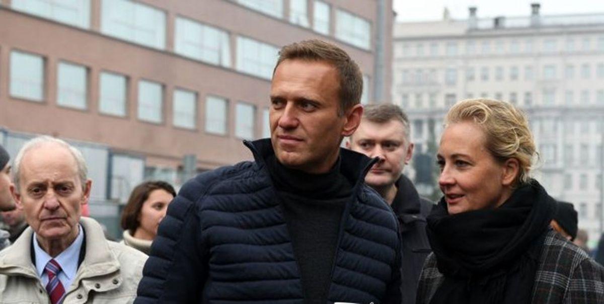 بازداشت الکسی ناوالنی هنگام ورود به خاک روسیه