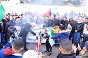 حمله نظامیان رژیم صهیونیستی به معترضان فلسطینی در کرانه باختری