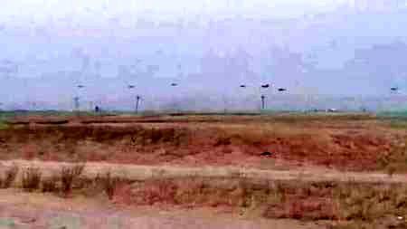 فرود مرموز هفت بالگرد آمریکایی در منطقه تحت کنترل داعش در کرکوک