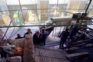 بازدید رئیس دفتر مقام معظم رهبری از پروژه حرم سیدالشهدا (ع)