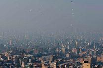تداوم آلودگی هوا در کلانشهر تهران