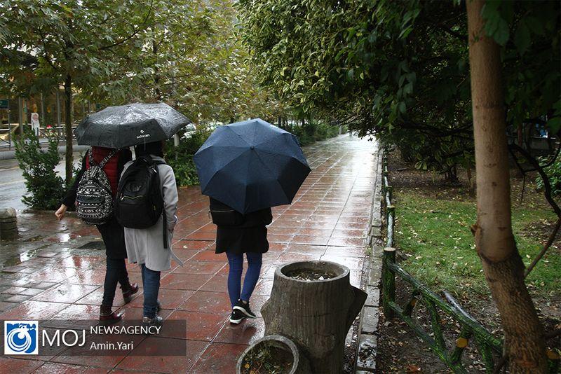 پیش بینی بارش شدید در ۵ استان کشور