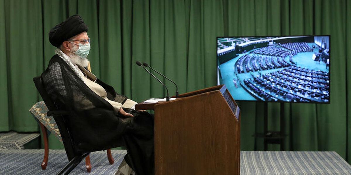 الطاف رهبر معظم انقلاب اسلامی قوت قلبی برای مجلس انقلابی بود