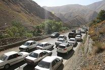 آخرین وضعیت جادههای کشور/ترافیک در محور هراز نیمه سنگین است
