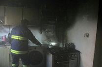 هود آشپزخانه، خانه ای را در آمل به آتش کشید