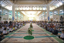 جشن بندگی در آستان مقدس حضرت معصومه برگزار می شود