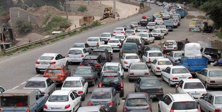 آخرین وضعیت جوی و ترافیکی جاده ها در ۸ فروردین ۹۹