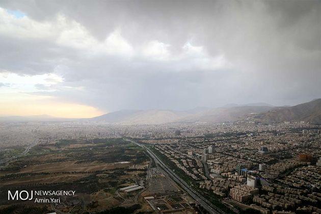 کیفیت هوای تهران در 21 شهریور ماه 82 سالم است