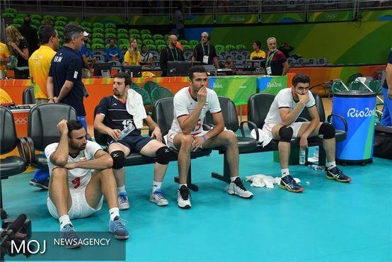 والیبالیستهای ایران با المپیک ریو وداع کردند