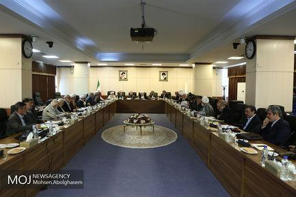 آخرین جلسه مجمع تشخیص مصلحت نظام در سال ۱۳۹۷