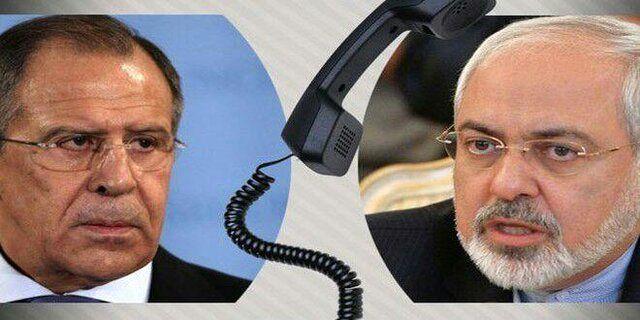 گفتگوی تلفنی ظریف با همتای روسی خود
