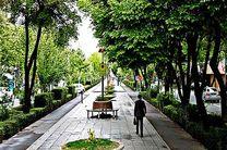 پیاده راه سازی چهارباغ عباسی قبل از برگزاری جشنواره بین المللی فیلم کودکان و نوجوانان در اصفهان