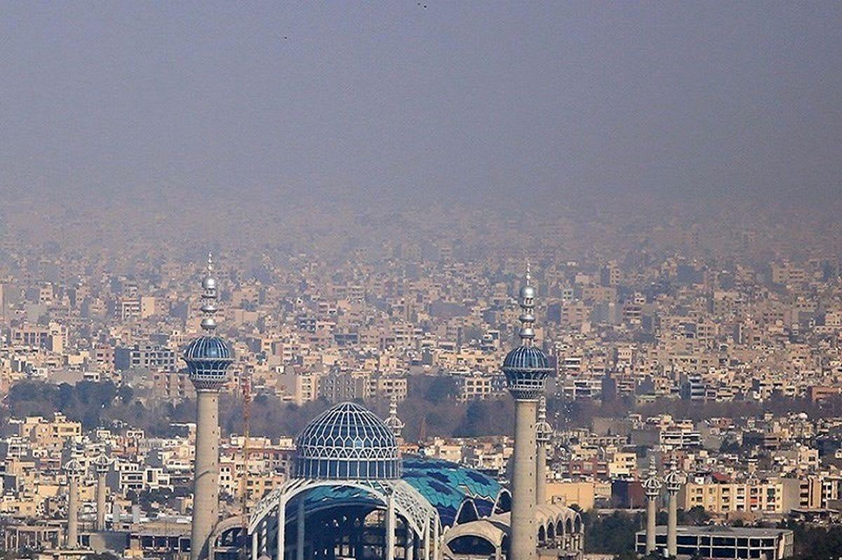 هوای اصفهان همچنان در وضعیت نارنجی است