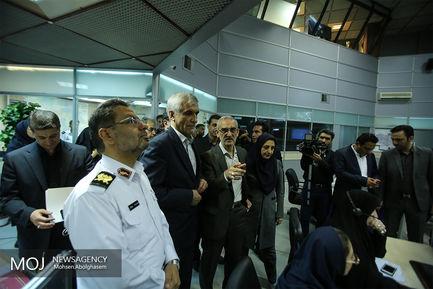 ستاد مهر در مرکز کنترل ترافیک شهر تهران