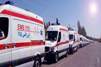 امداد رسانی اورژانس هرمزگان به زائران اربعین حسینی