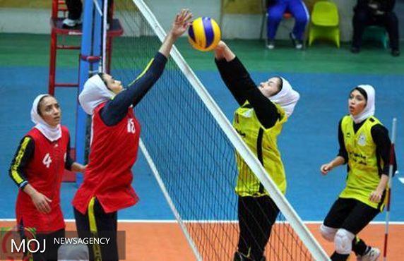 نایب قهرمانی تیم والیبال بانوان لرستان در مسابقات قهرمانی کشور