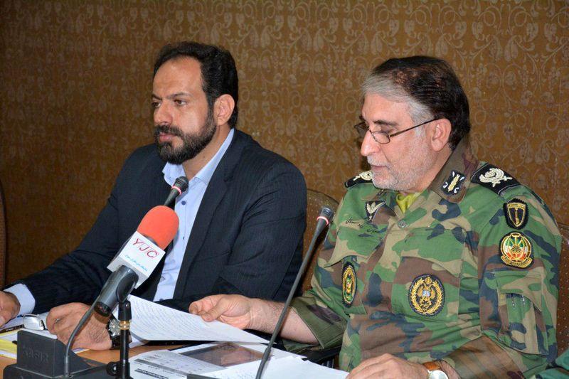 برگزاری ۳۸ دوره مسابقات ارتش به میزبانی شهرستان خمینی شهر
