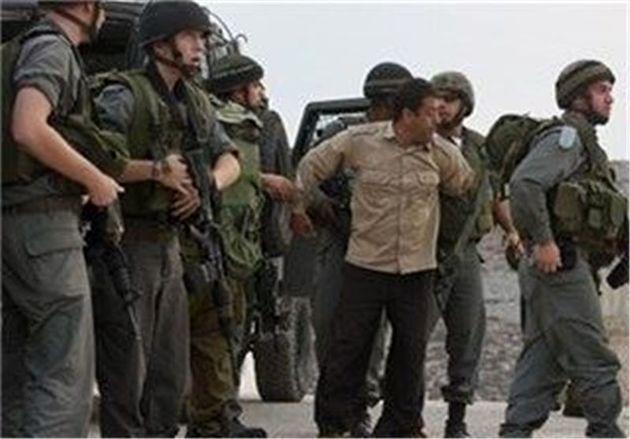 رژیم صهیونیستی ۲۲ فلسطینی را در کرانه باختری بازداشت کرد