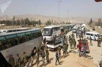 بیش از ۱۵ هزار عنصر تروریستی از غوطه شرقی به ادلب سوریه حرکت کردند