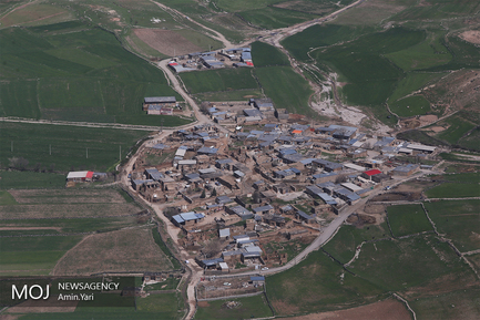 تصاویر هوایی از مناطق سیل زده استان لرستان