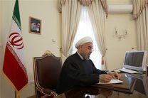 پیام تبریک روحانی به آیتالله سیستانی و رئیسجمهور عراق در پی آزادسازی موصل