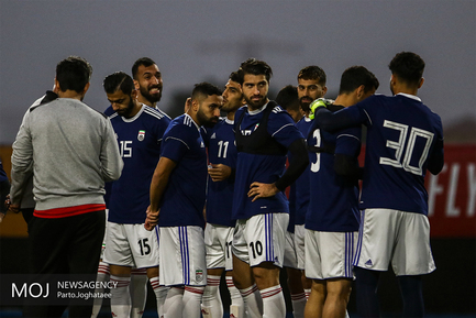 آخرین تمرین آماده سازی تیم ملی فوتبال کشورمان قبل از دیدار با تیم ملی چین
