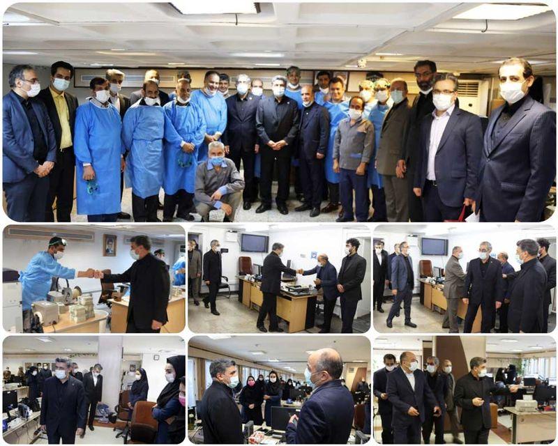 قدردانی حجتاله صیدی در روز کارمند از کارکنان بانک صادرات ایران