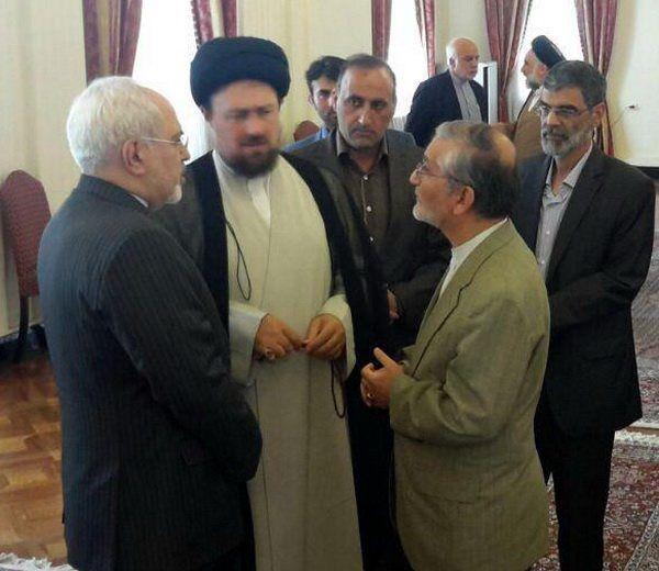 سید حسن خمینی در وزارت امور خارجه حضور یافت