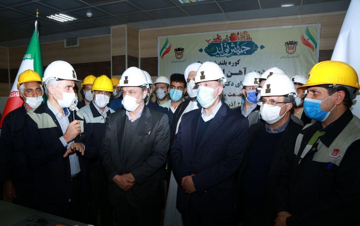 شرکت ذوب آهن بانی تمام توفیقات صنعت فولاد کشور است