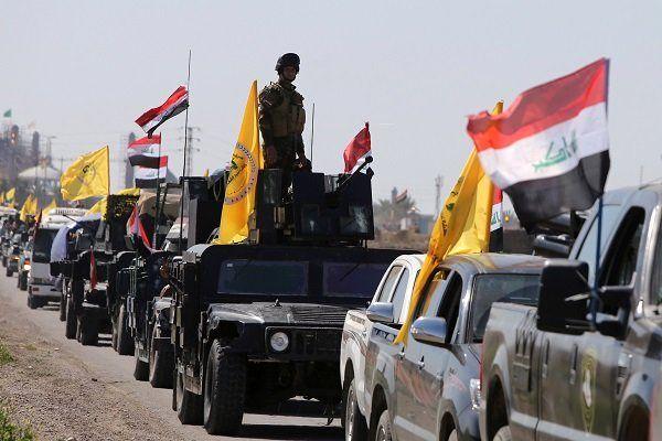 حمله مرگبار حشد شعبی به مواضع تروریستهای داعش