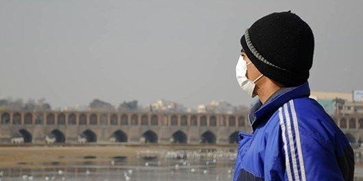 کیفیت هوای اصفهان ناسالم برای گروه های حساس / شاخص کیفی هوا 108