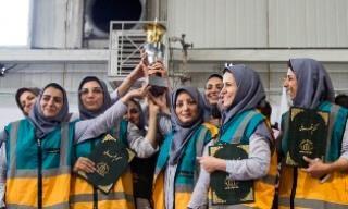 رتبه نخست گروه های دوام منطقه 6 در مسابقات شهر تهران