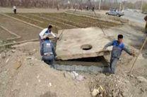 بازسازی حوضچههای شیرآلات شبکههای آب و فاضلاب روانسر