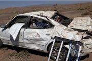 یک کشته در اثر واژگونی سواری سمند در اردستان