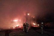جزئیات آتش سوزی در انبار چوب جاده خاوران/ 20 راس دام تلف شدند