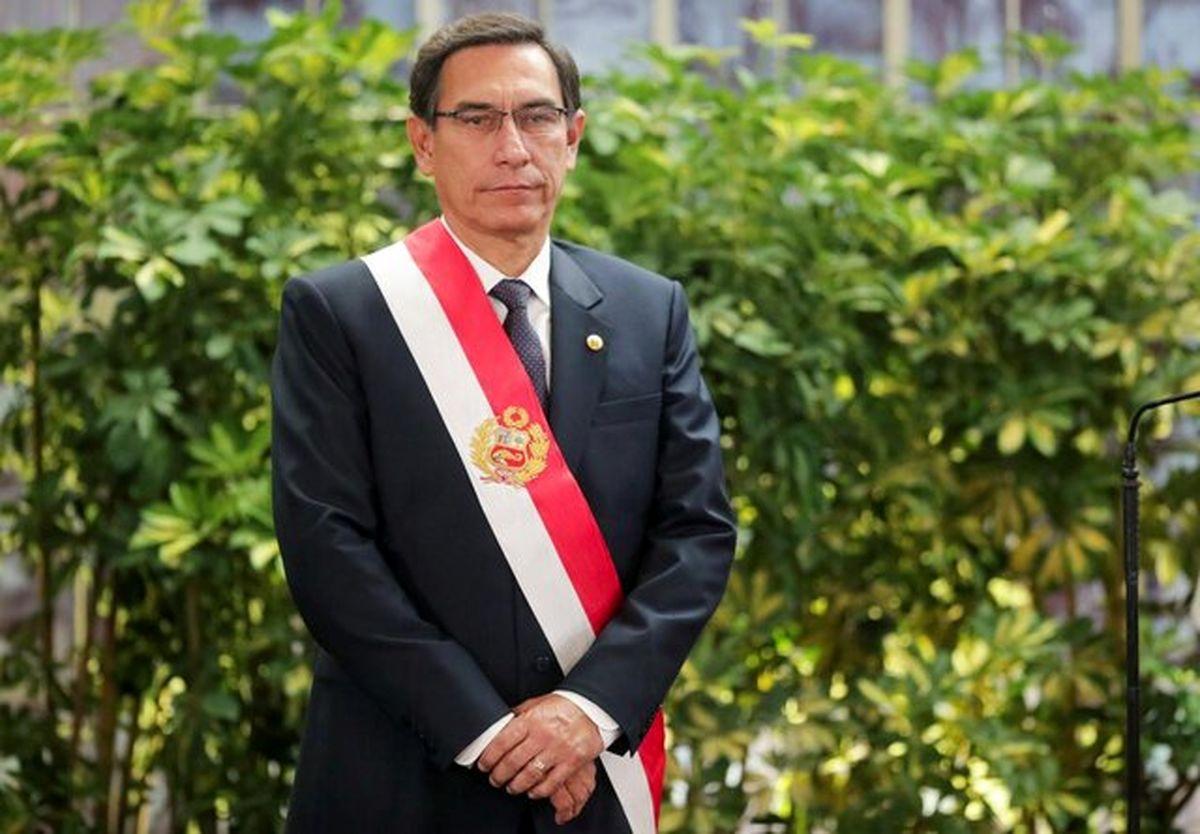 تجمع هزاران تن از مردم پرو در اعتراض به برکناری رئیس جمهور محبوبشان
