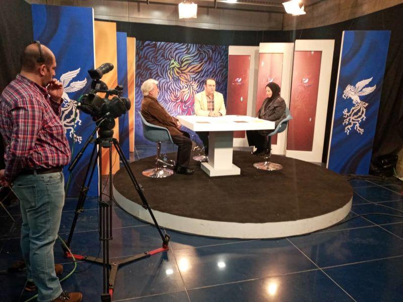 حضور بازیگران فیلم سینمایی خروج در شبکه نسیم