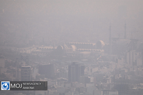 کیفیت هوای تهران ۱۰ دی ۹۹/ شاخص کیفیت هوا به ۱۵۸ رسید