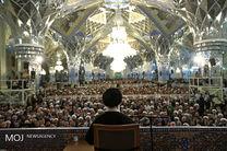 سخنرانی مقام معظم رهبری ساعت 15 در رواق امام خمینی(ره) آغاز میشود