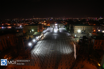 احیای شب بیست و یکم ماه مبارک رمضان در دانشگاه شریف