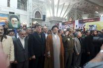 وزیر اطلاعات به بنیانگذار انقلاب اسلامی ادای احترام کرد