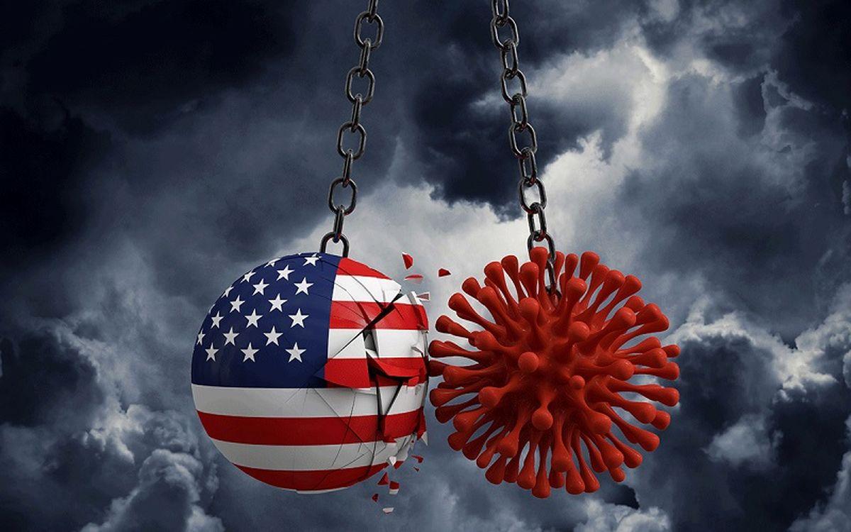 رکورد شکنی ویروس کرونا در آمریکا