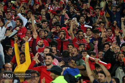حاشیه دیدار تیم های فوتبال پرسپولیس ایران و السد قطر