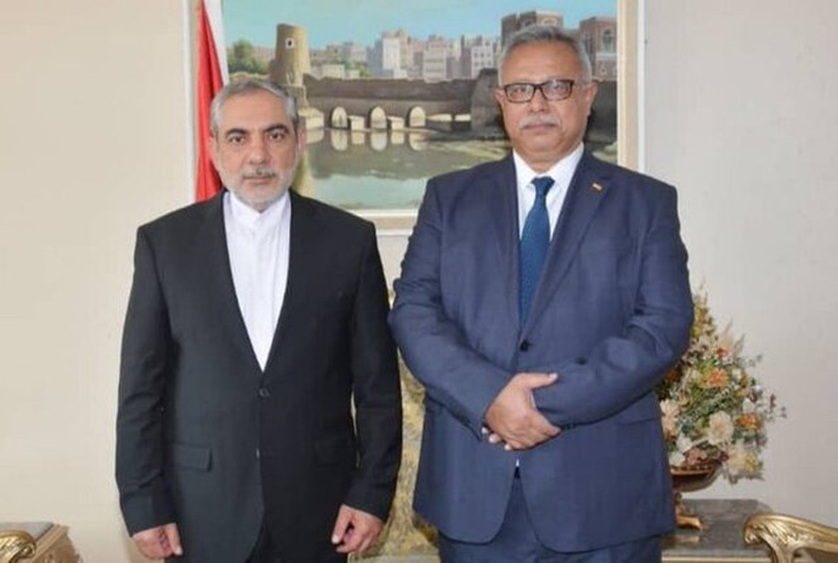 سفیر ایران در صنعا با نخست وزیر یمن دیدار و گفتگو کرد