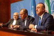 بیانیه مشترک وزرای خارجه سه کشور روند آستانه درباره سوریه