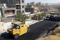 آغاز عملیات آسفالت بیش از 35 هزار مترمربع از معابر و محلات شهرک بهاران